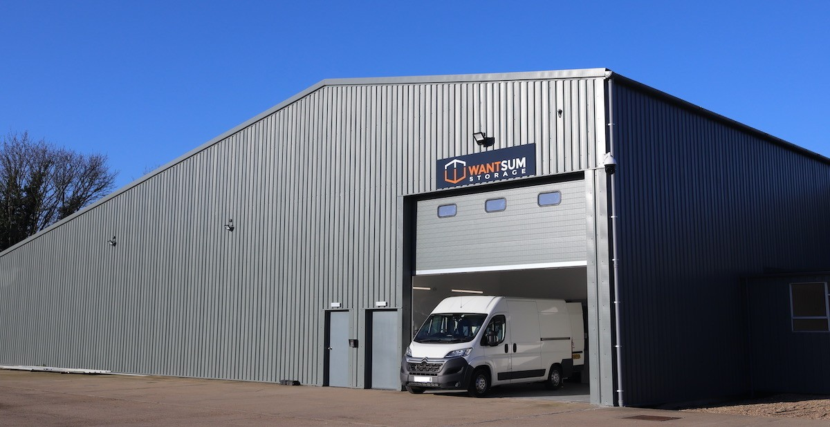 All weather loading bay for cars and vans - 24 hour access to your storage unit too.