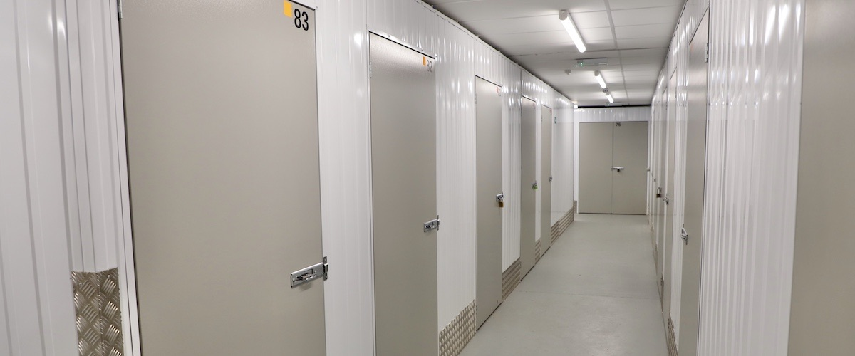 Inside Wantsum Self Storage, we keep you safe with CCTV and automated lighting