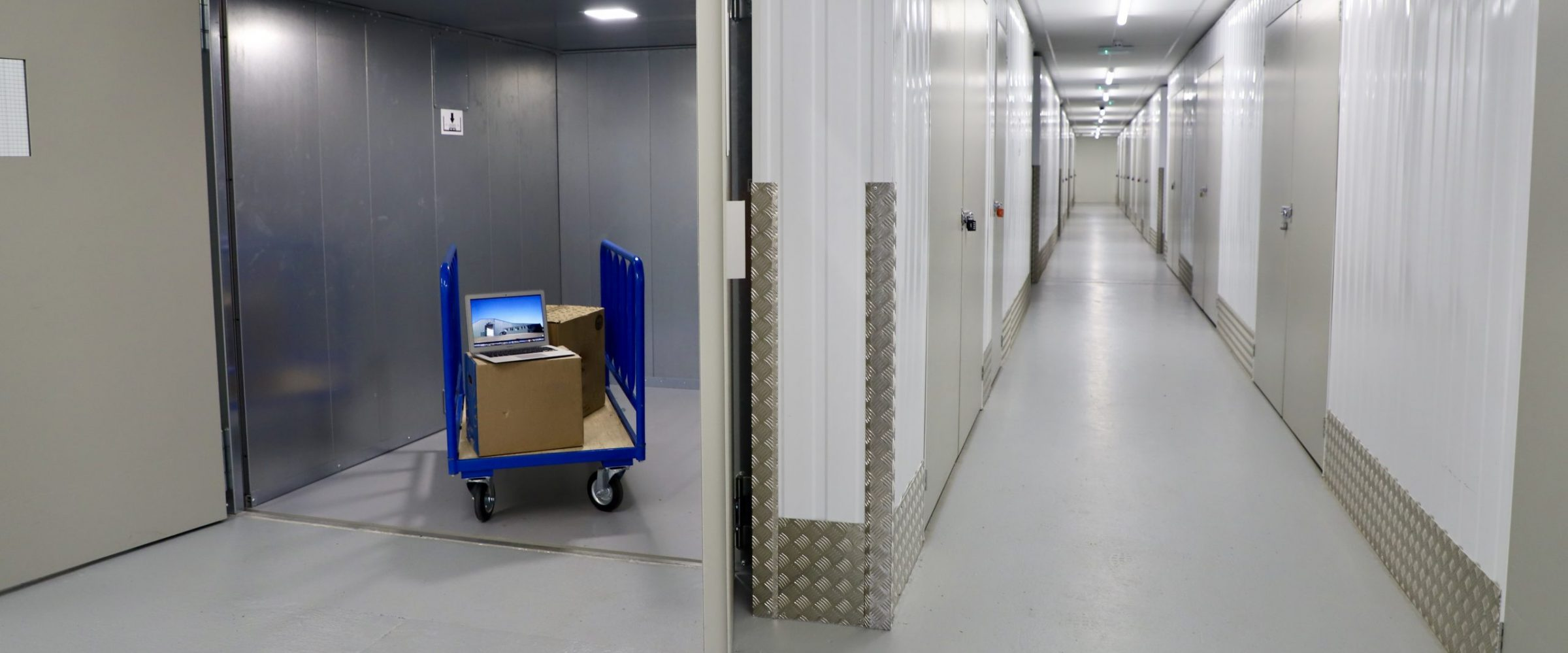 Thanet self storage works for business users too. Lift and flexible choice of units.