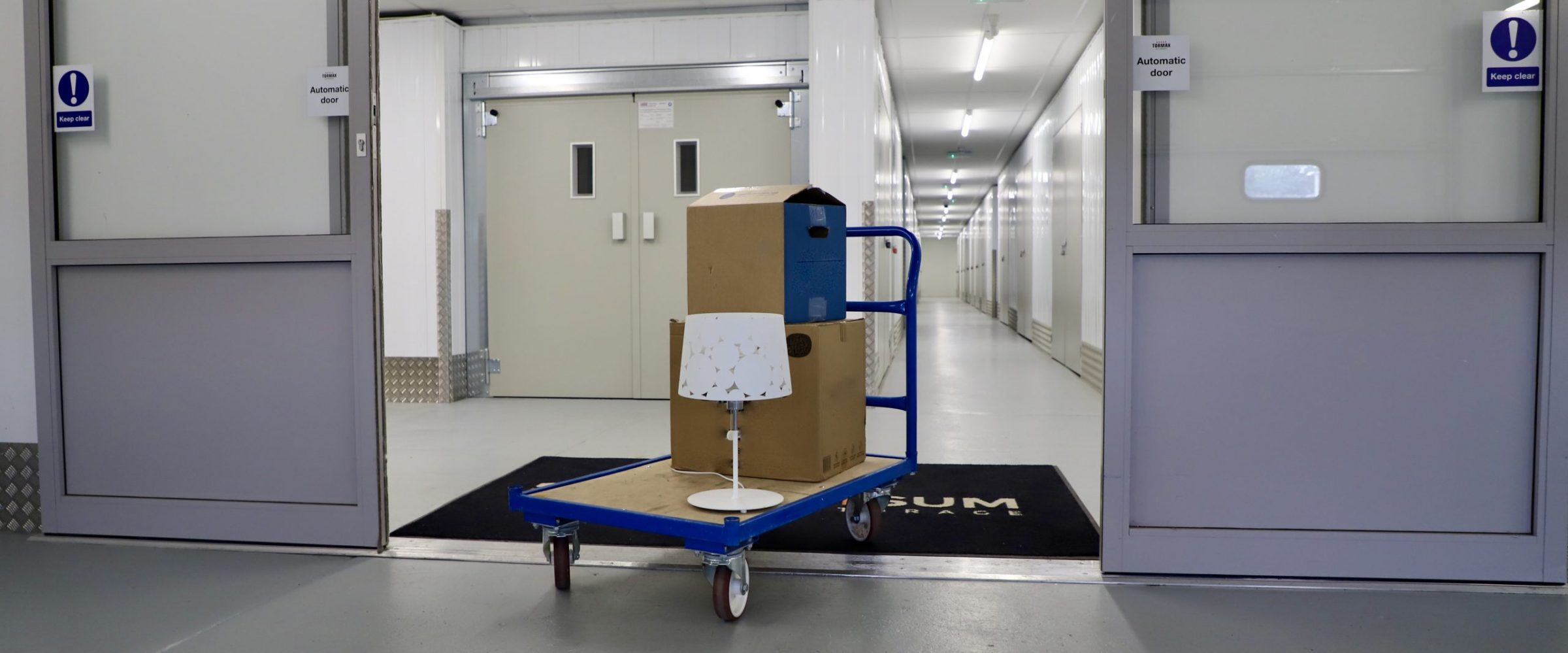 Loading bay, trolleys, lift and storage units to make moving in and out super easy.
